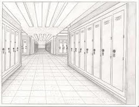 One Point Perspective Drawing Ms Chang S Art Classes